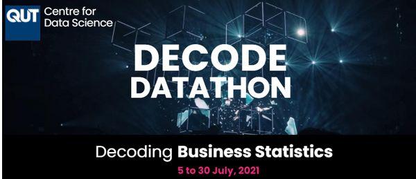 Decode Datathon - Decoding Business Statistics - QUT Centre for Data Science image