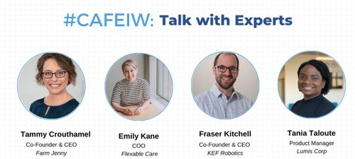 Cafe IW: Talk with Experts 🔑 image