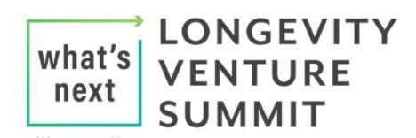 What's Next Longevity Venture Summit image