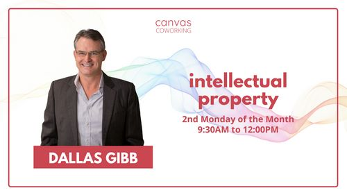 Ask An Expert - Dallas Gibb - Intellectual Property - Canvas Coworking image