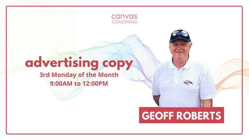 Ask An Expert - Geoff Roberts - Advertising Copy - Canvas Coworking image