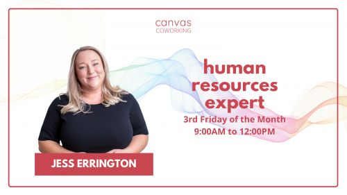 Ask An Expert - Jess Errington - Human Resources - Canvas Coworking image