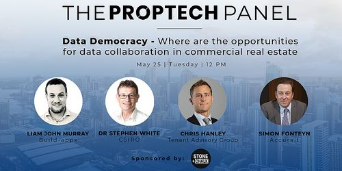 Stone & Chalk Presents: Proptech Panel - Data Democracy; Where are the opportunities for data collaboration in commercial real estate image