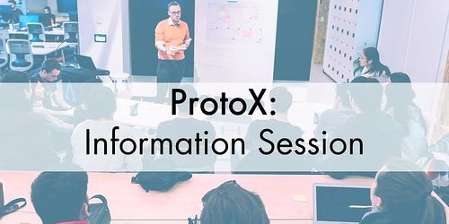 ProtoX Research to Impact: Information Session 2021 image