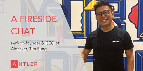 Antler fireside chat with Airtasker's Tim Fung image