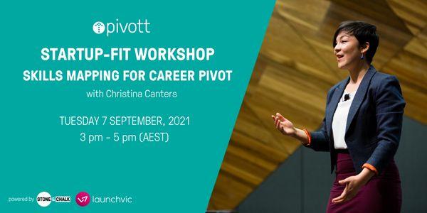 Pivott Workshop - Skills Mapping for Career Pivot image