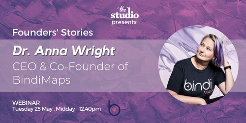 Founders' Stories: Dr Anna Wright, Founder of BindiMaps image