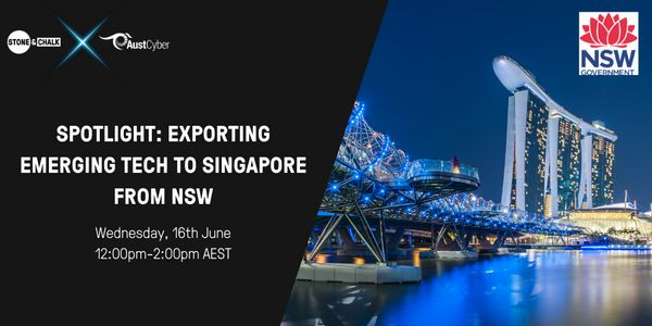 Spotlight: Exporting emerging tech to Singapore from NSW image
