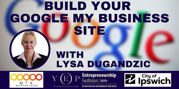 Build your Google My Business Site image