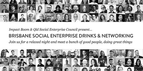 Brisbane Social Enterprise Drinks & Networking - #QSocEnt, 2nd of June | Humanitix image