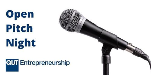QUT Entrepreneurship's Open Pitch Night – Online image