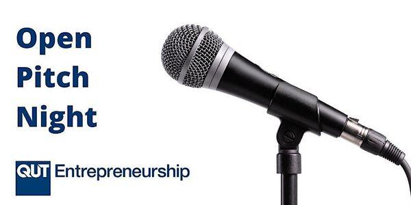 QUT Entrepreneurship's Open Pitch Night – Online image