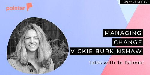 Managing Change with Vickie Burkinshaw image