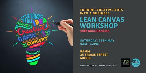 Lean Canvas Workshop: Turning Creative Arts into a Business image