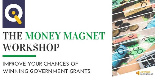 IQ Money Magnet Workshop Special: Winning Government Grants image