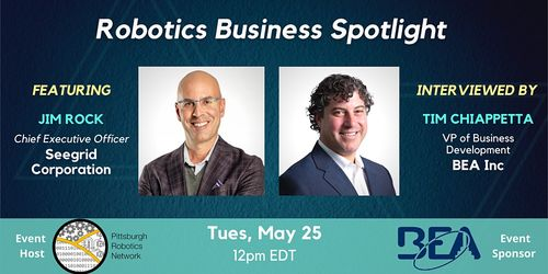Robotics Business Spotlight - Featuring Jim Rock, CEO of Seegrid image