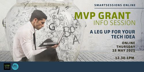 SMARTSessions – MVP Grant Info Session: a leg-up for your tech idea image