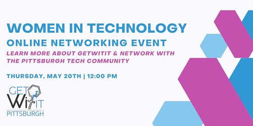 getWITit Pittsburgh - Women in Tech Networking image