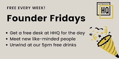 HHQ Founder Friday! image