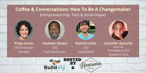 Coffee & Conversations: How to be a Changemaker image