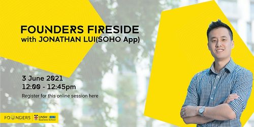 Founders Fireside with Jonathan Lui, Founder of Soho App image