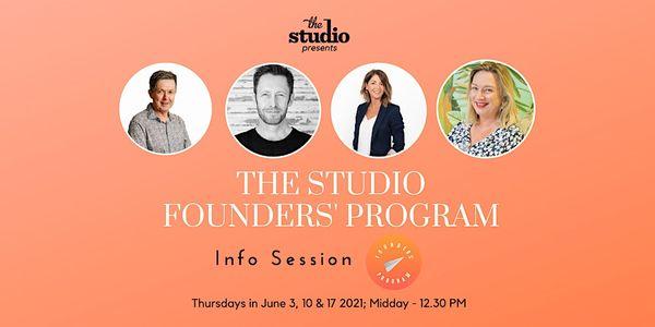 The Studio Founders' Program - Info Session image