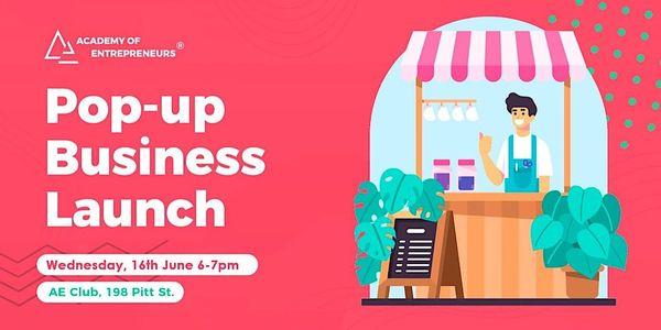 Pop-up Business Launch image