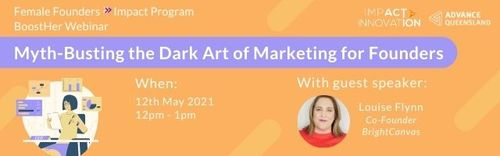 Female Founders BoostHer Webinar: Myth-Busting The Dark Art of Marketing for Founders image
